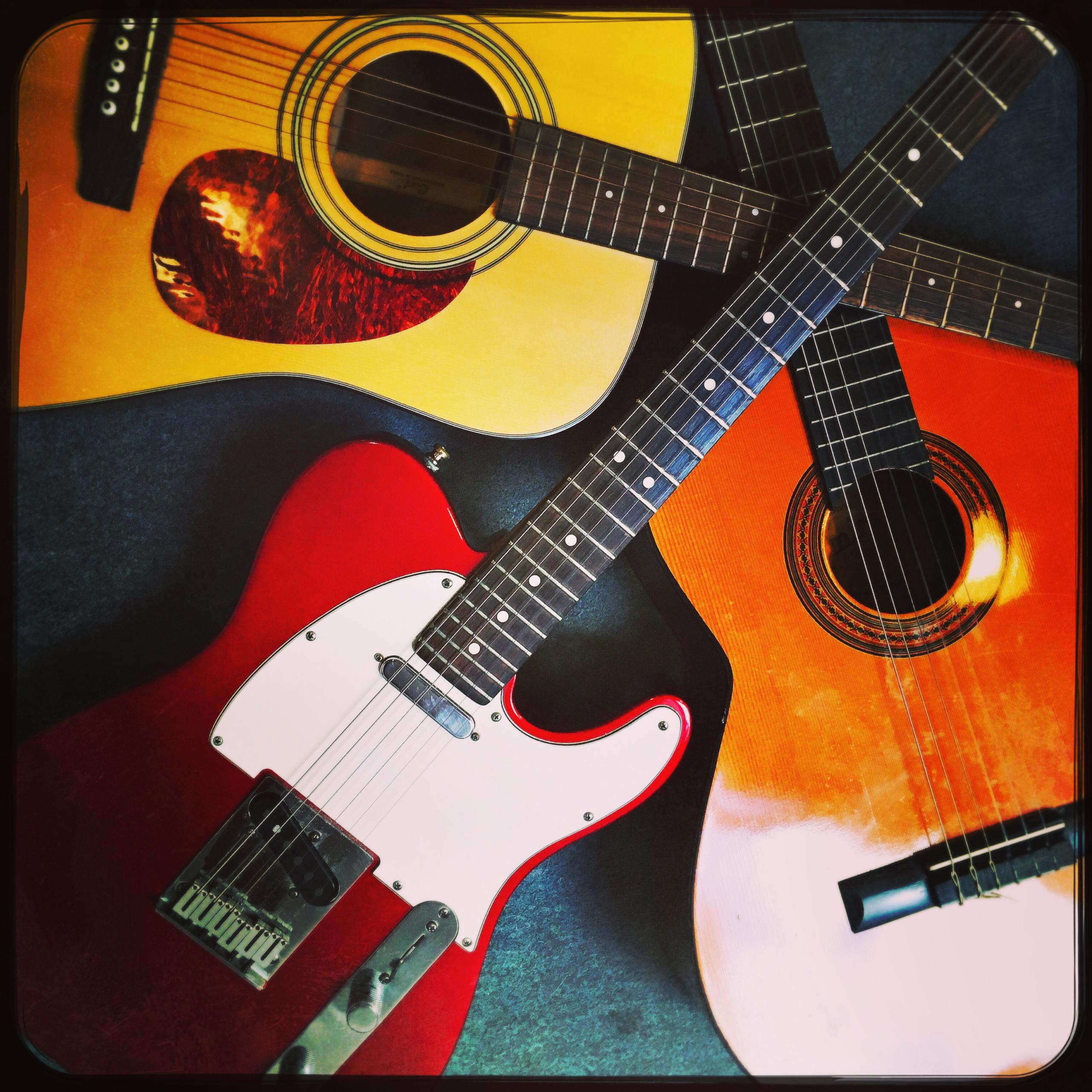 Instrument cours de Guitare