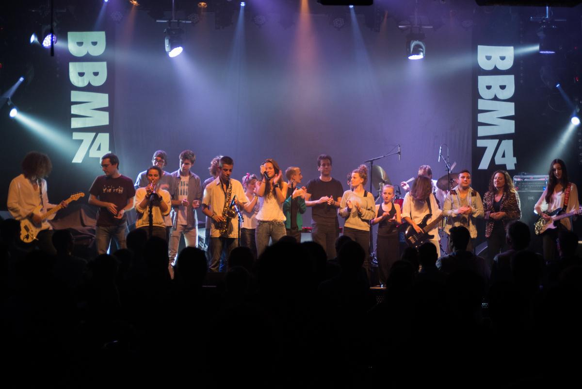 Anniversaire 20 ans BBM74 Concert Musiciens