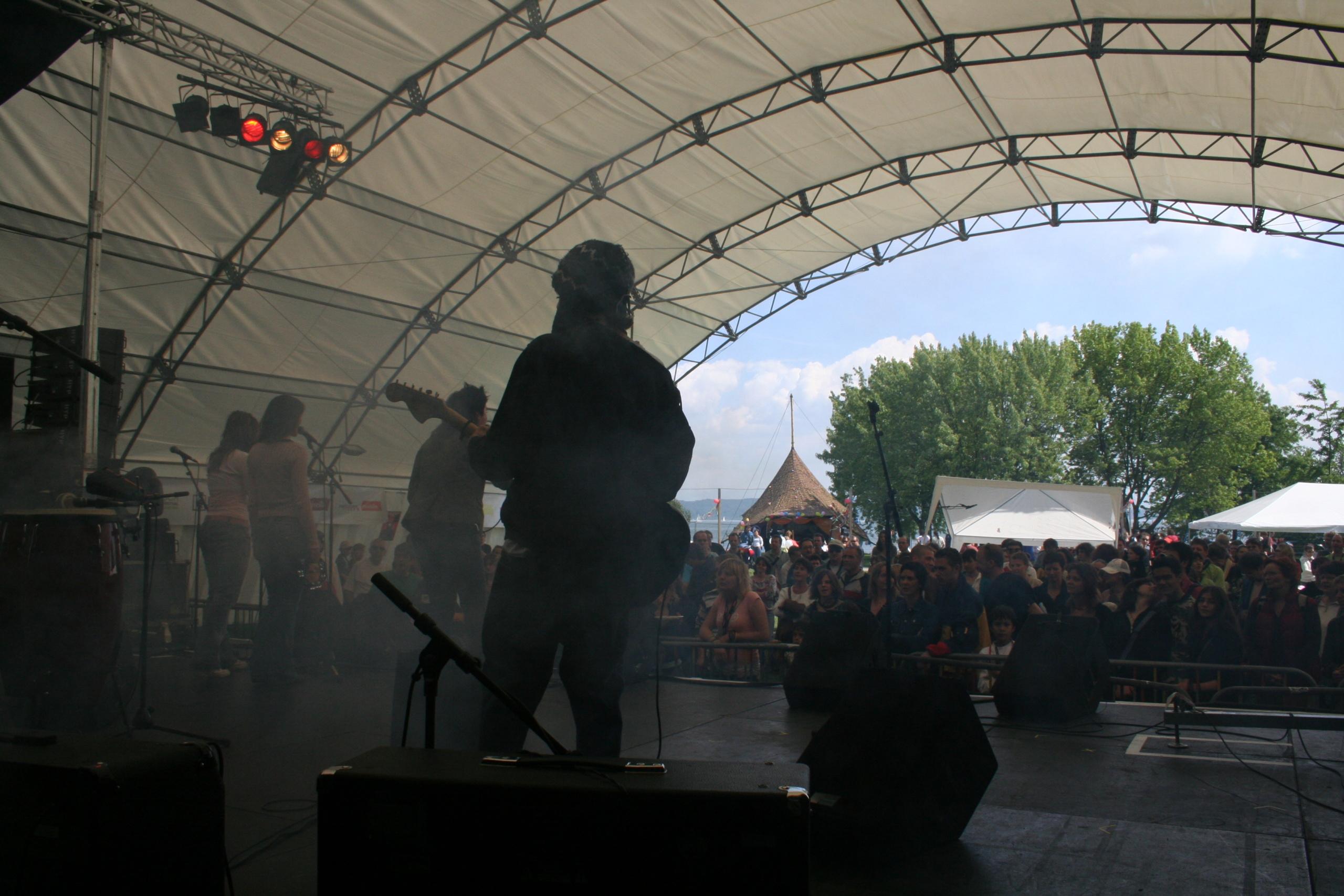 Concert en plein air Neuchâtel