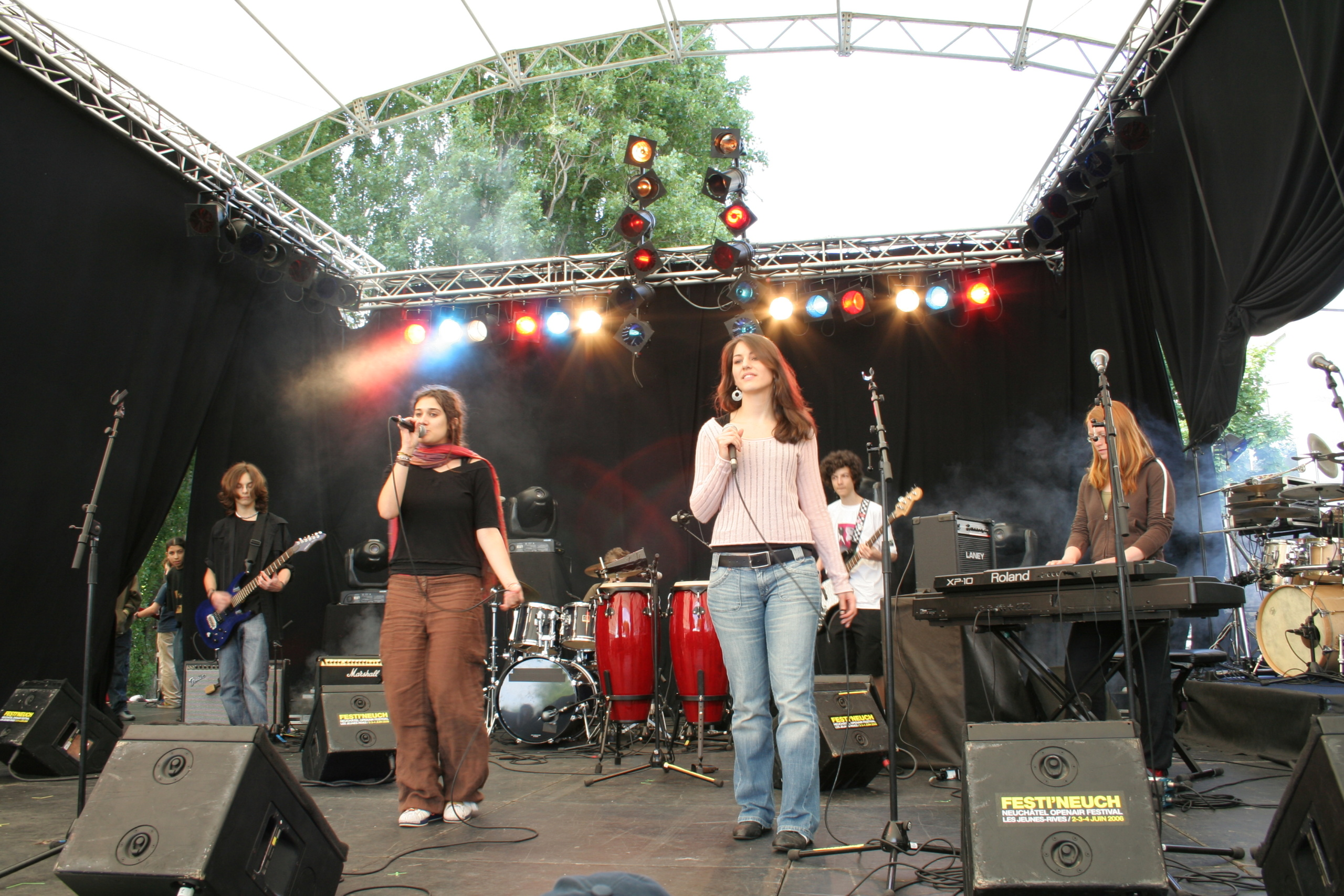 Concert groupe Suisse