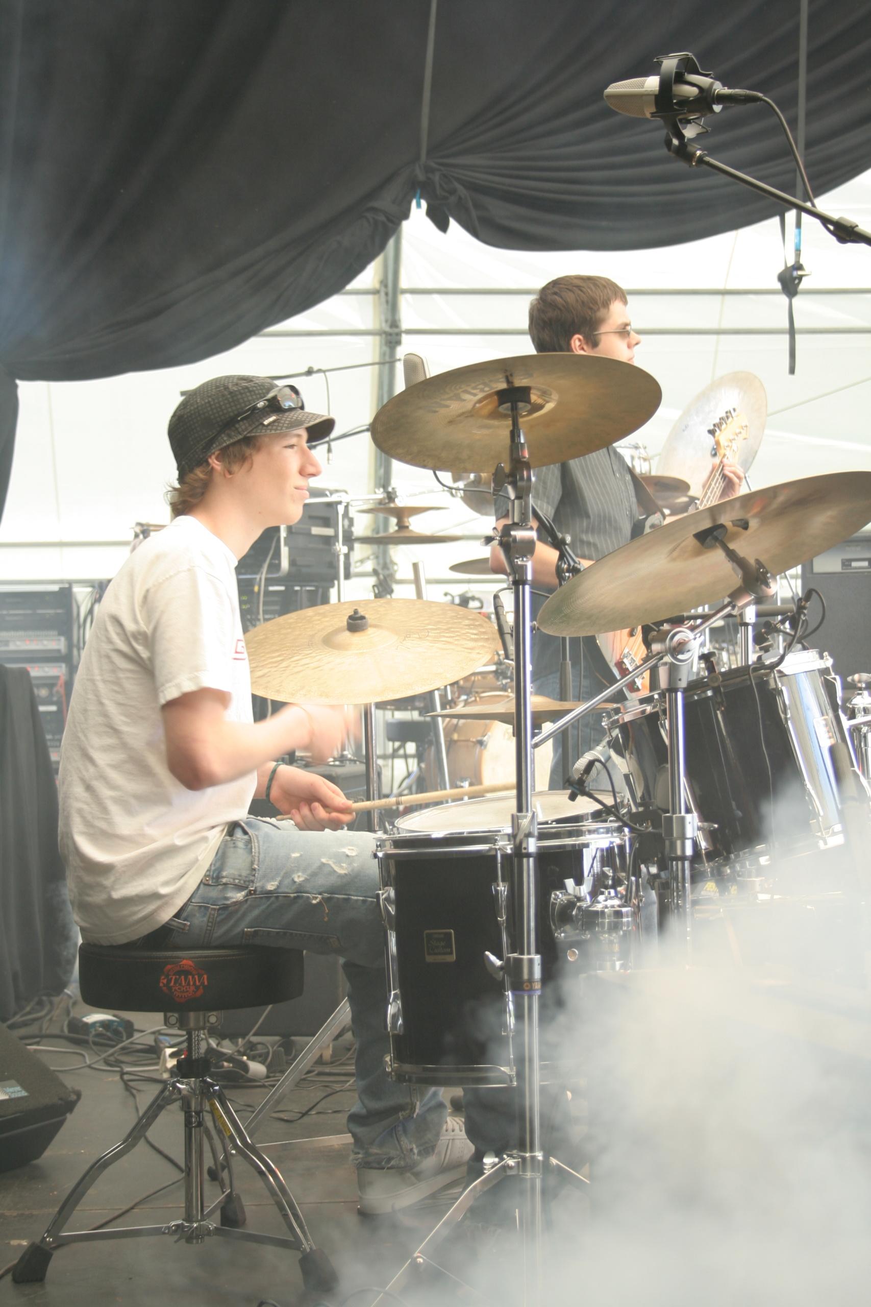Batteur Concert